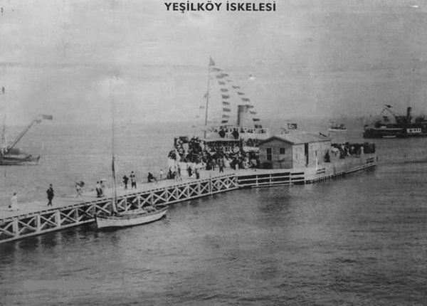 Yeşilköy İskelesi #birzamanlar #istanbul #oldpics #istanlook