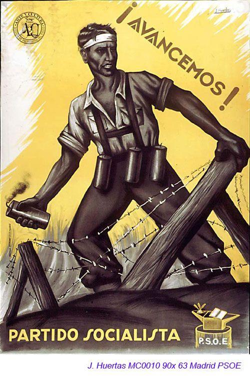 Spain - 1936-39. - GC - poster - J. Huertas