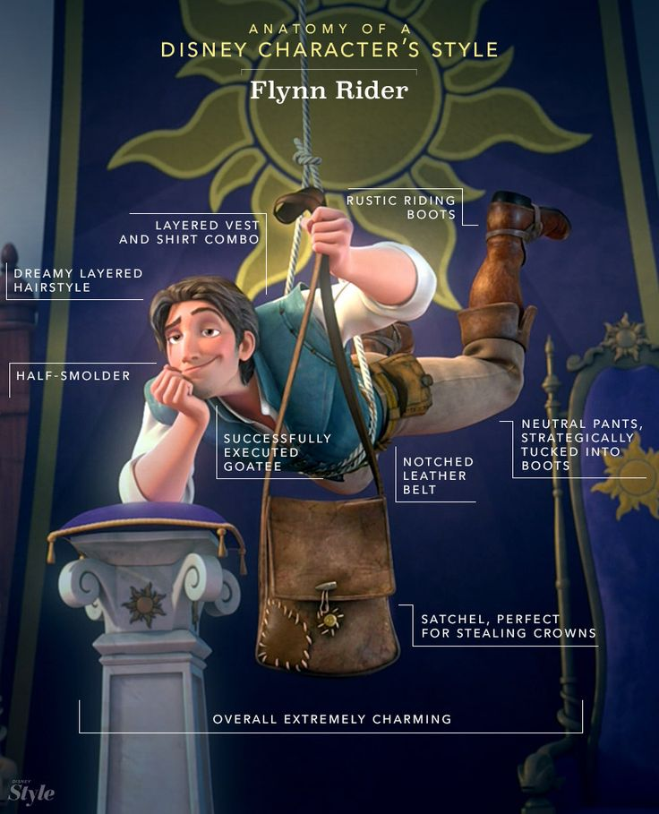 Style tips for your groom from our favorite thief-turned-prince, Flynn Rider #Disney #Tangled