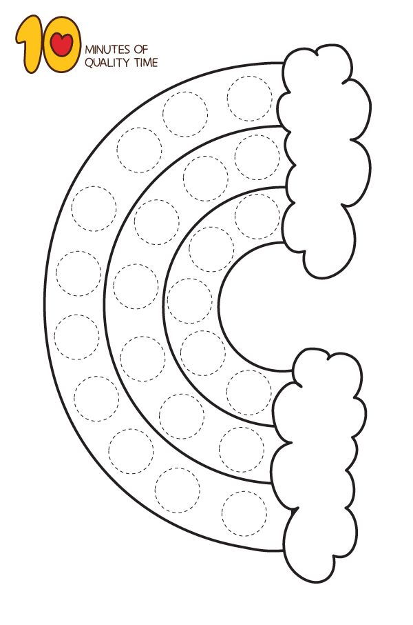 25 Dot Activity Printables | Easy art for kids, St patrick ...