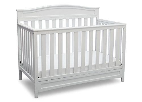 Delta Children Emery 4-in-1 Crib, White Delta Children