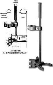 Auto Pool Latch 1 3 8 Quot X 2 Quot For Pool Chain Link Fence Gate