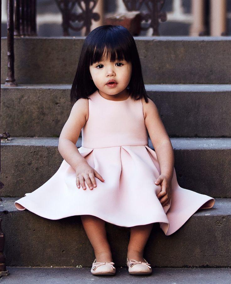 Baby Girl's Scuba Full Dress - PRE ORDER - Bardot Junior