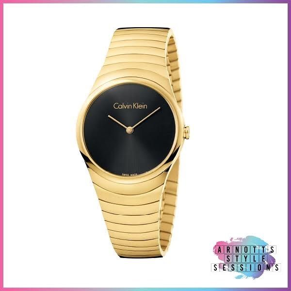 To celebrate the upcoming #ArnottsStyleSessions we are giving our readers nine days of fantastic giveaways featuring some of Arnotts favourite brands. Our fifth prize is a stunning watch from the new @calvinklein AW17 collection. The Whirl Watch features a deep luxurious face with delicate gold arms and complimenting gold strap. This chic watch features analog display stainless steel waterproof to 3 bar a easy-to-use clasp and is swiss made. To win simply like this post and tag your best…