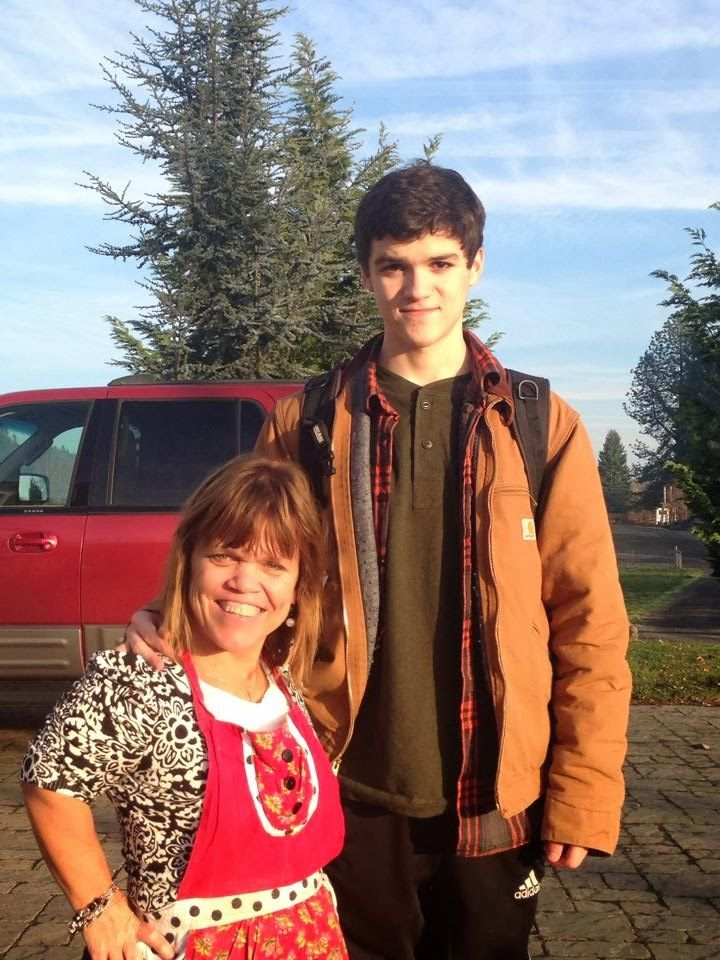 The roloff family, Amy with her youngest son Jacob