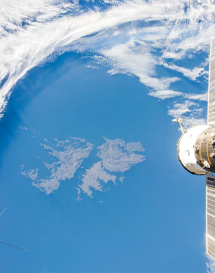 Las Islas Malvinas, vistas desde el espacio #malvinas