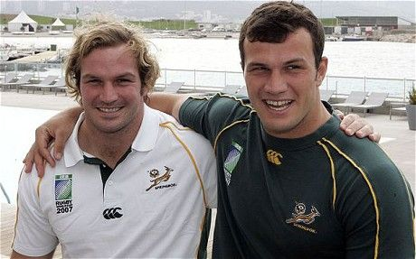 The du Plessis brothers!! Although I really wish Bismark would stop getting in trouble.
