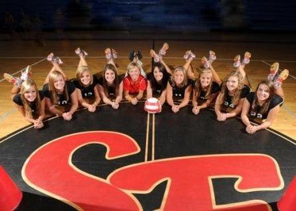 yearbook photo idea! for the dance team :D