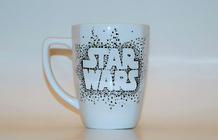 Star Wars Coffee Mug, Star Wars Sharpie Mug, Star Wars Sharpie Dot Mug, Cup gift, Tea mug, Coffe mug, Designer Cup, Designer mug by RiverbottomRose on Etsy