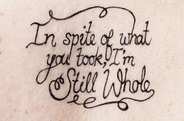 Empowering tattoos help rape survivors reclaim their bodies in ...