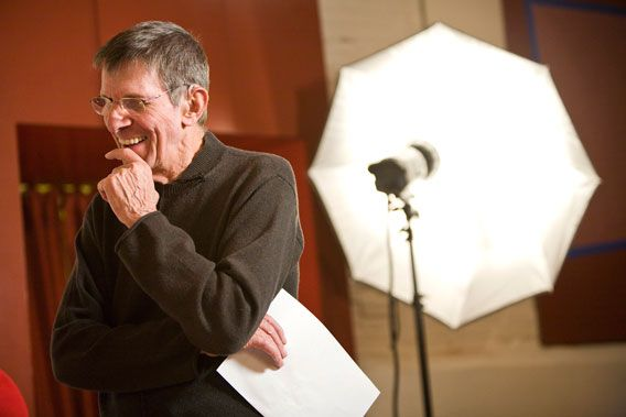 Leonard Nimoy photo by Seth Kaye Photography – Image courtesy of R.Michelson Galleries