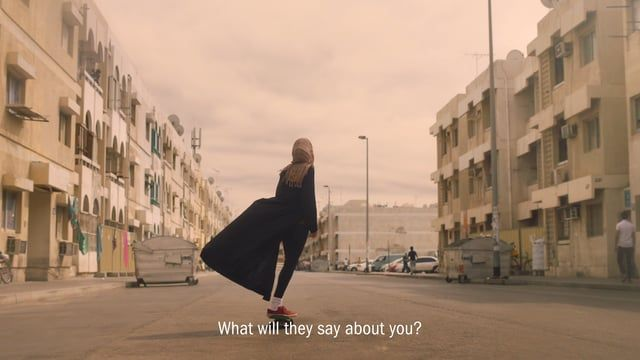 """What will they say about you"""" is a common Arabic phrase used in every home in the Middle East when one member of the family does something out of the ordinary and the family's worried about what others might think. A message to girls and women of the Middle East and beyond. Do your thing, no matter who or what tries to hold you back.   CLIENT: Nike WIEDEN+KENNEDY AMSTERDAM Executive Creative Director: Eric Quennoy and Mark Bernath Creative Director: Craig Williams and Al Merry Art Director…"""