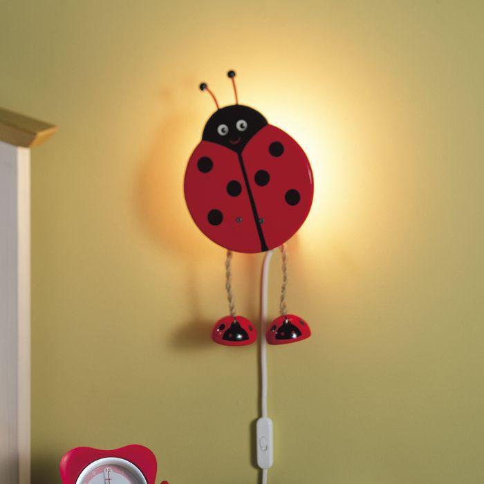 Ladybird (Wall), Wall Lights, Globug - Kids & Home Lighting