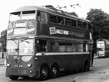 Leyland X7 Trolleybus [one built]