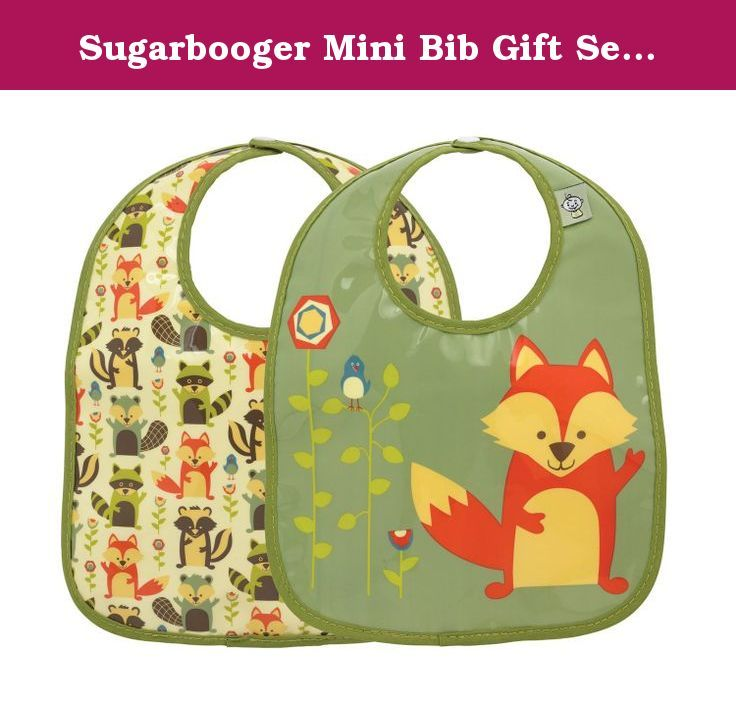 Sugarbooger Mini Bib Gift Set, What Did the Fox Eat, 2 Count. Oré Originals has been creating a legacy of Happy Products for Good People and Pets since 1989. It all began in a small garage in Southern California... Lisa Lowe founded Oré Originals with a love for design and a passion for color, print, pattern and creating useful things. The SugarBooger brand for babies, kids and the people who love them was inspired by the birth of Lisa's little boy. Her enthusiasm to create draws from a...