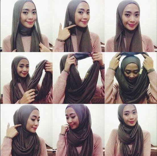 Hijab Tutorial: How to Wear an Infinity Scarf