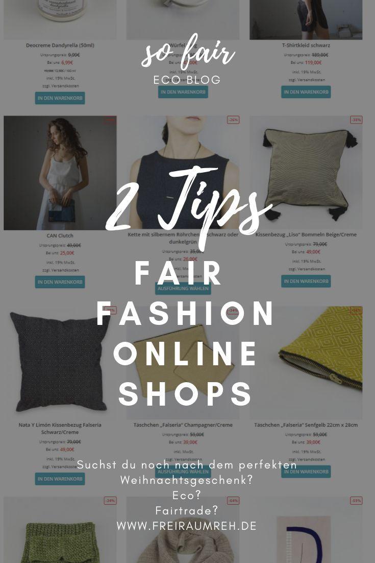 meine top 2 nachhaltige online-shops. wie shoppe ich, worauf