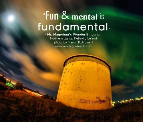 Fundamental Quotes Images: 17+ Best Images About Mr. Magorium's Wonder Emporium On