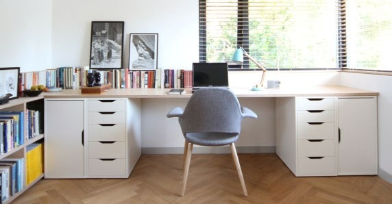 casiers placard bas planche bois massif bureau sur. Black Bedroom Furniture Sets. Home Design Ideas
