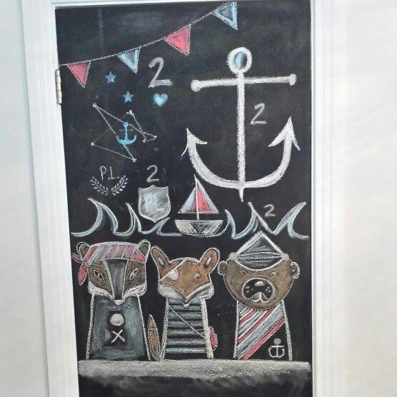 Pour fête matelot déco