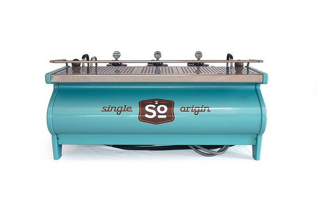 single origin's custom la marzocco strada by espressoparts US. #coffee #lamarzocco