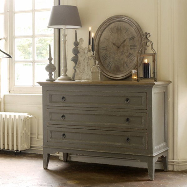 Commode 3 tiroirs - Collection Esquisse - Copyright Interior's France