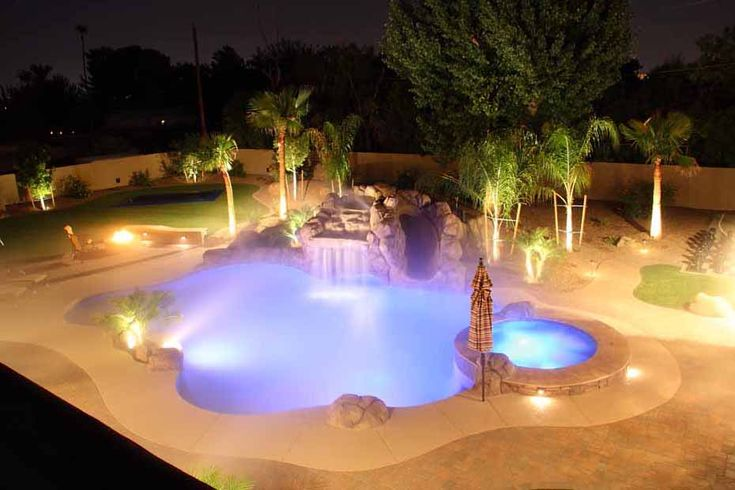 17 best images about water features on pinterest for Garden pool in arizona