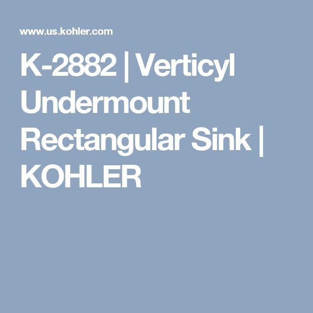 Verticylтў Rectangular Undermount Bathroom Sink K-2882-0 16 best doormat ideas images on pinterest   welcome mats, diy and home