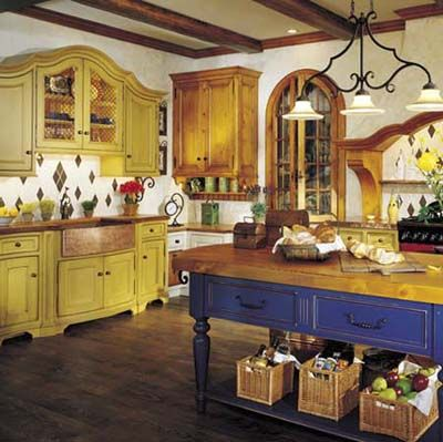 distressed yellow kitchen cabinets | related content gallery kitchen countertops gallery kitchen ...