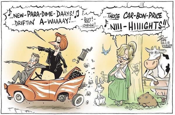 David Pope - politics, Australia, Julia Gillard