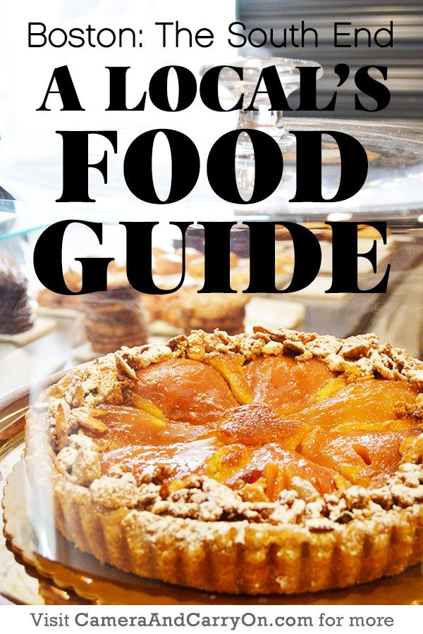 Have you been to any of these? A Local's Food Guide to Boston's South End #restaurant #guide #boston #southend | CameraAndCarryOn.com
