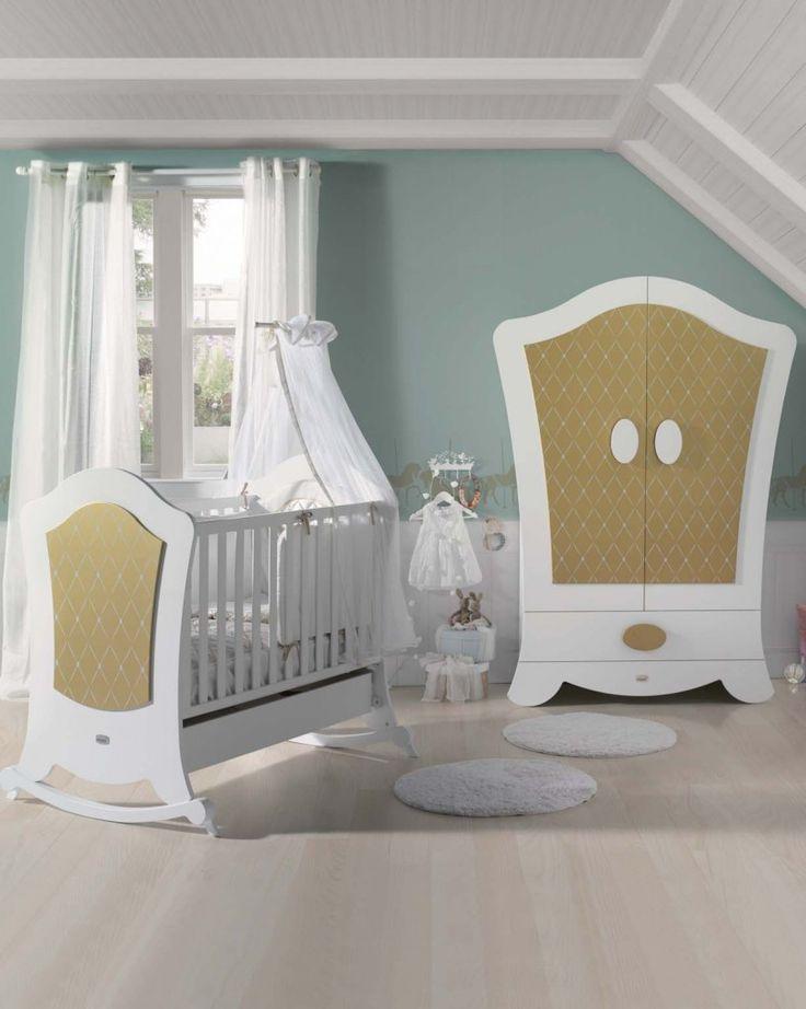 24 best Habitaciones bebés images on Pinterest   Nursery, Baby rooms ...