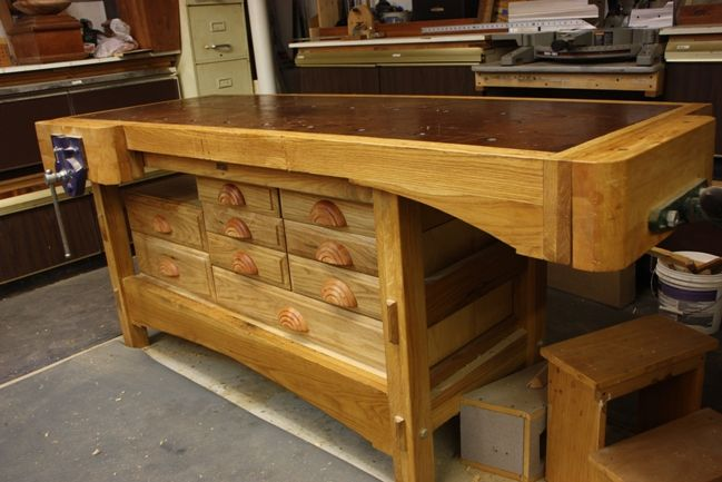 Wood Bench With Drawers ~ I a b f d  pixels woodworking