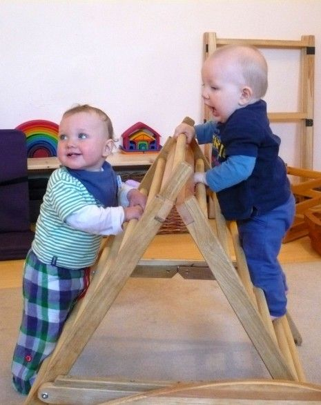 I love this climbing triangle for little ones!