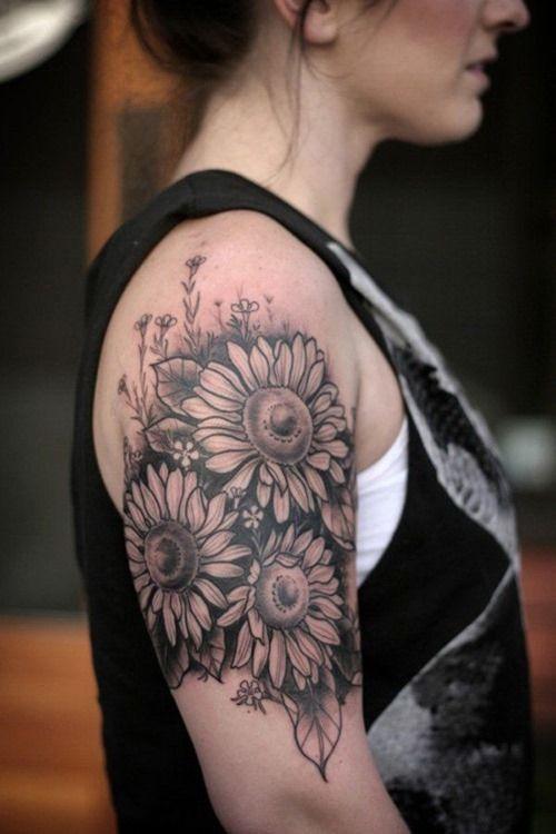 18 Amazing Half Sleeve Tattoos for Girls (18)