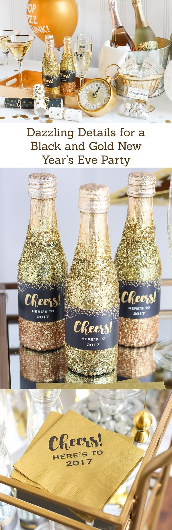 Get ready for a dazzling New Year's Eve party with our favorite tips, tricks and ideas!