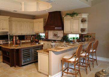 Mediterranean Kitchen Photos Breakfast Nook Design, Pictures, Remodel, Decor and Ideas - page 14