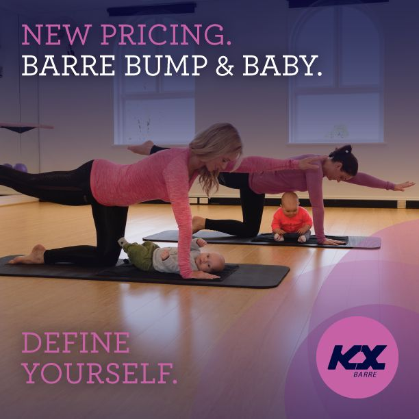 KX BARRE - Barre bump for pre and post natal Barre workouts  #kxbarre #prenatal #postnatal #postnatalworkout #barrebump #barrebaby #defineyourself #kx