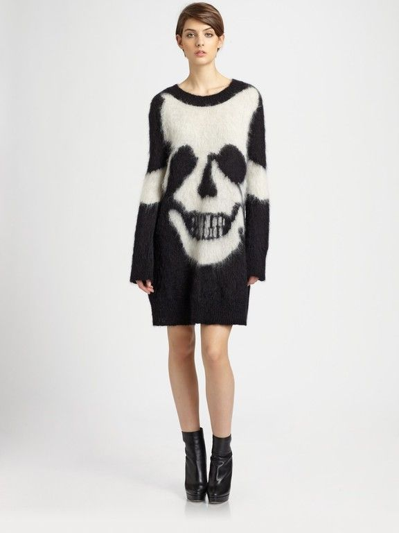 Rock On This Mcq By Alexander Mcqueen Skull Intarsia