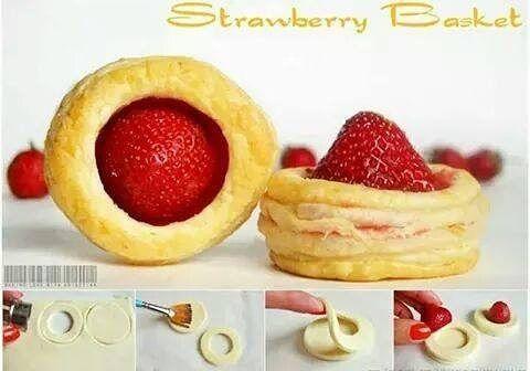 #strawberry #basket #food #delicious #tasty #dessert