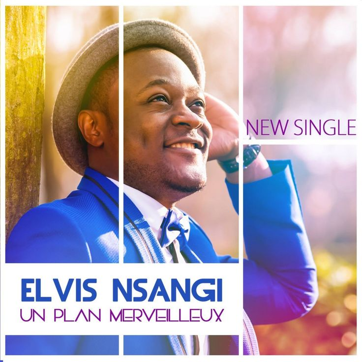 Elvis Nsangi est un nouvel artiste auteur-compositeur et interprète originaire du Congo et vivant en Belgique. Il sort aujourd'hui son nouveau single Un plan merveilleux produit par Dzani Mpiana qui a pour but d'encourager et de donner une petite lueur d'espoir à toute personne en s'inspirant de sa propre relation avec Dieu.