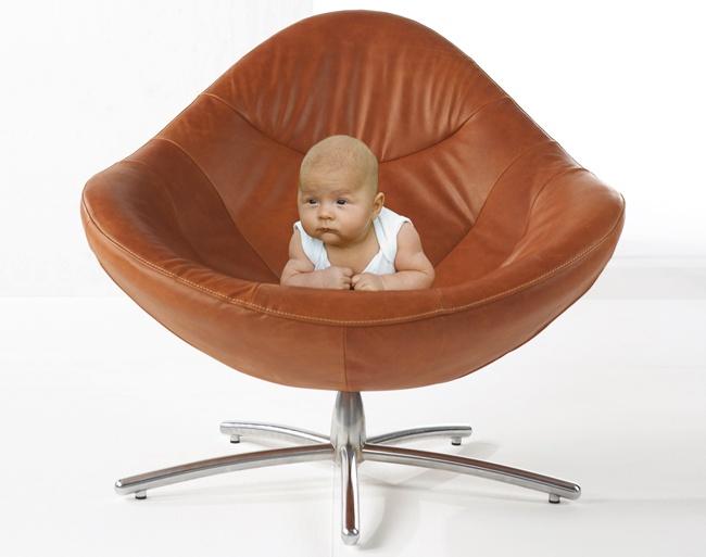 fauteuil HIDDE by LäBeL. Design: Gerard van der Berg 2006