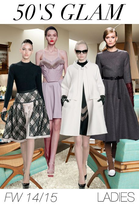 2014/2015 YOUNG WOMEN'S FASHION TRENDS | Women's fashion trend forecast: Fall-Winter 2014/2015 themes from ...