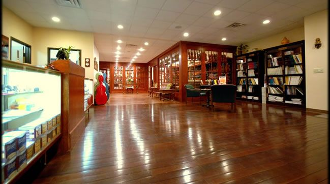 A look at the Antonio Strad Violin shop in San Antonio, TX.  One of the largest violin shops in Texas offering sales, lessons, repairs, restorations and rentals for violin, viola, cello and bass.