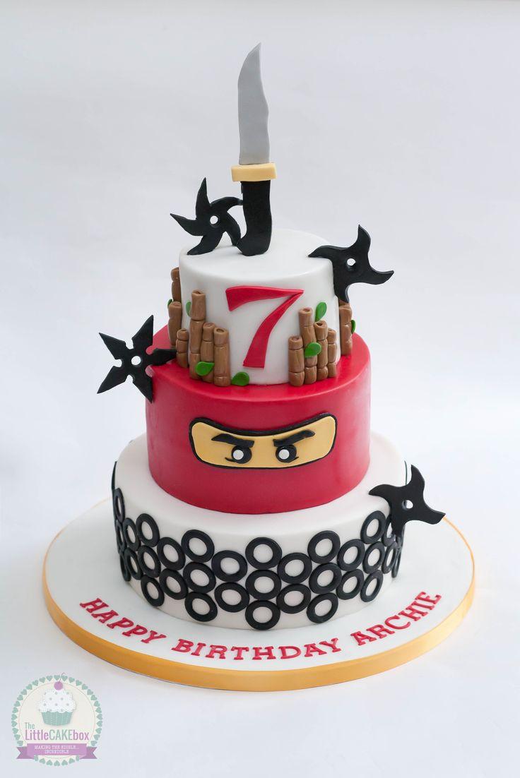 Lego ninjago cake.