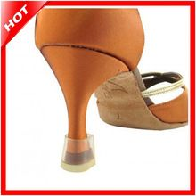Zapatos de baile para baile latino Salsa Tango plástico protectores de talón, boda hierba High Heel Shoe Caps protección auditiva, venta al por mayor barato(China (Mainland))