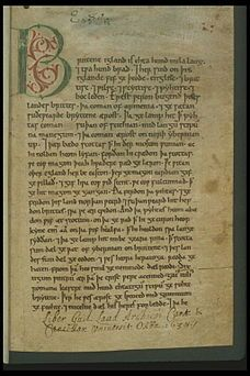 A-Z Challenge – A is for The Anglo-Saxon Chronicles | a great post by Elin Gregory