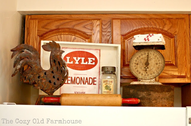"The Cozy Old ""Farmhouse"": Vintage Kitchen to Farmhouse Kitchen"