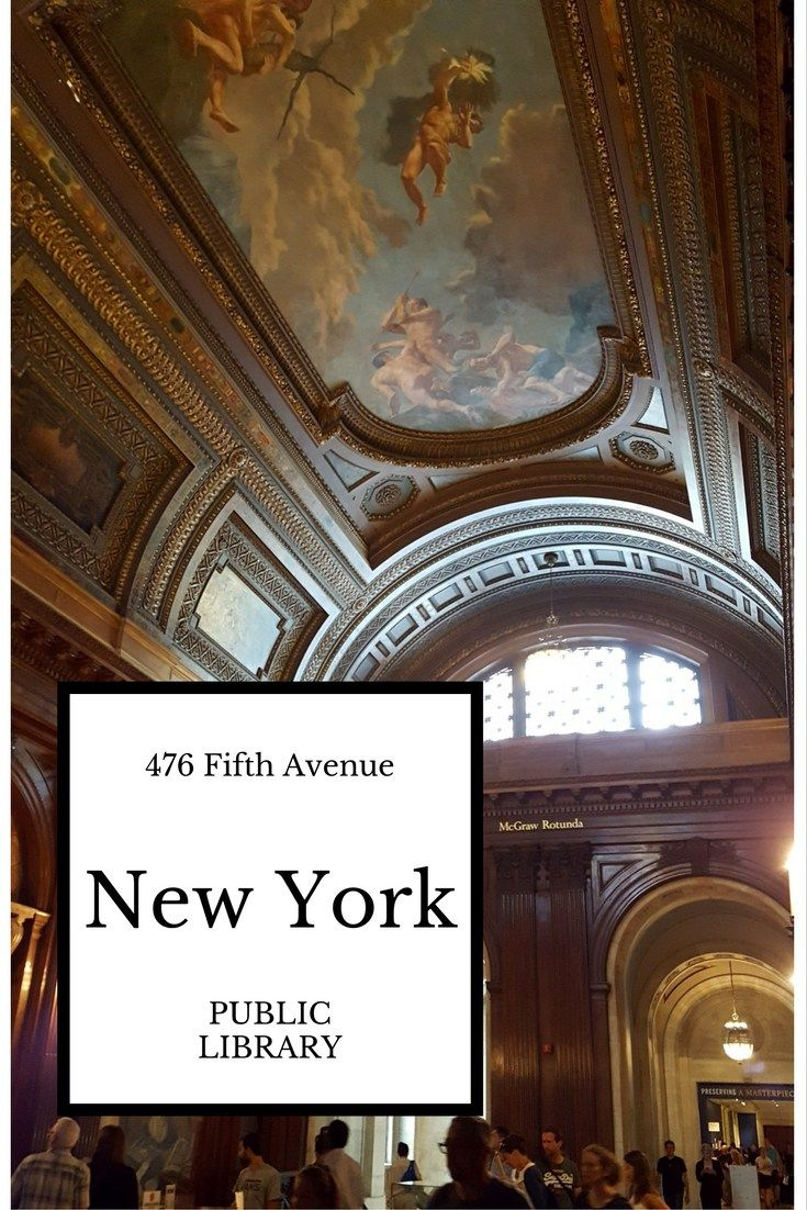 The building of the New York Public Library on Fifth Avenue is magnificent, as are the different reading rooms. A must-see place in New York.
