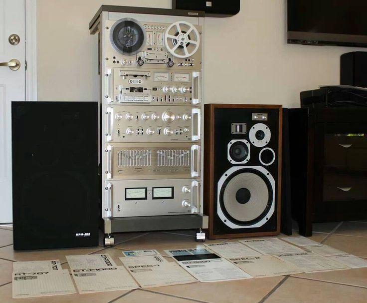 Vintage Pioneer Setup...